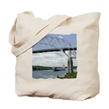 Canal and Bridge Tote Bag