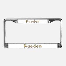 Kaeden Giraffe License Plate Frame