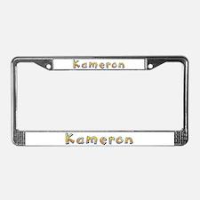 Kameron Giraffe License Plate Frame
