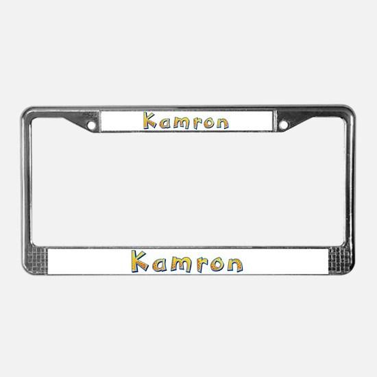 Kamron Giraffe License Plate Frame