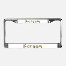 Kareem Giraffe License Plate Frame