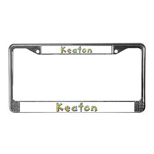 Keaton Giraffe License Plate Frame