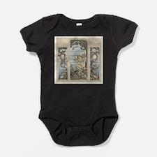 mermaids Baby Bodysuit