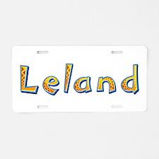 Leland Giraffe Aluminum License Plate