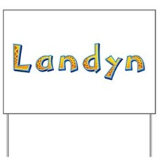 Landyn Giraffe Yard Sign