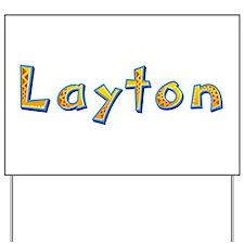 Layton Giraffe Yard Sign
