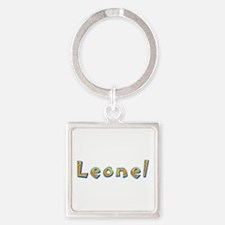 Leonel Giraffe Square Keychain