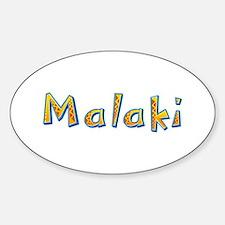 Malaki Giraffe Oval Decal