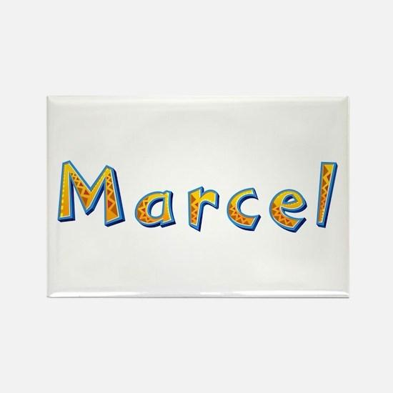 Marcel Giraffe Rectangle Magnet