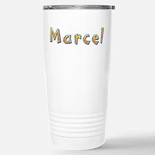 Marcel Giraffe Stainless Steel Travel Mug