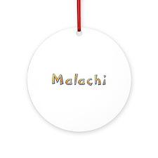 Malachi Giraffe Round Ornament