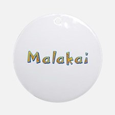 Malakai Giraffe Round Ornament