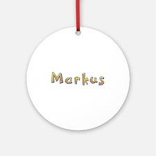 Markus Giraffe Round Ornament