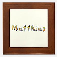 Matthias Giraffe Framed Tile
