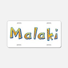Malaki Giraffe Aluminum License Plate