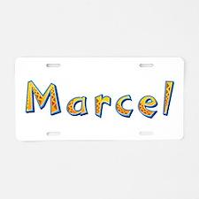 Marcel Giraffe Aluminum License Plate