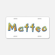 Matteo Giraffe Aluminum License Plate
