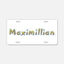 Maximillian Giraffe Aluminum License Plate