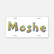 Moshe Giraffe Aluminum License Plate