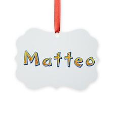 Matteo Giraffe Ornament