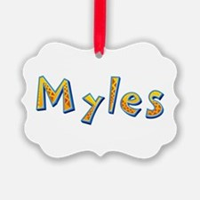 Myles Giraffe Ornament