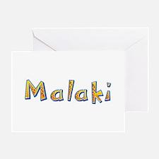 Malaki Giraffe Greeting Card