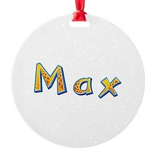 Max Giraffe Ornament