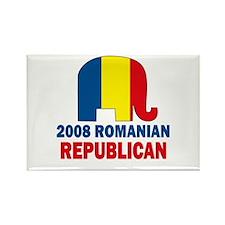 Romanian Republican Rectangle Magnet