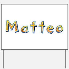 Matteo Giraffe Yard Sign