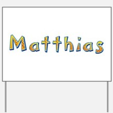 Matthias Giraffe Yard Sign
