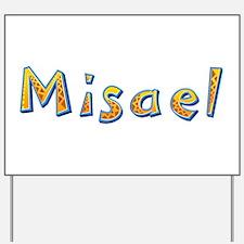 Misael Giraffe Yard Sign