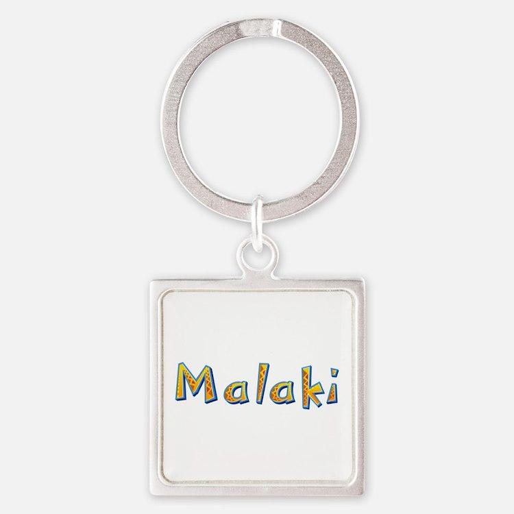 Malaki Giraffe Square Keychain