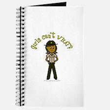 Dark Brown Sheriff Journal