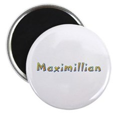 Maximillian Giraffe Round Magnet