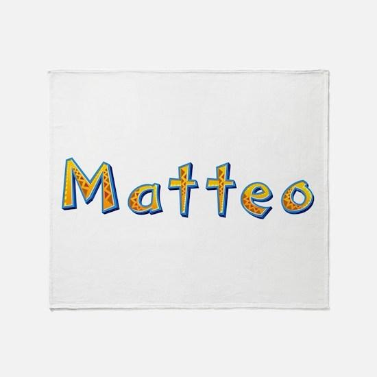 Matteo Giraffe Throw Blanket