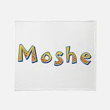 Moshe Giraffe Throw Blanket