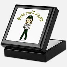 Light Green Sheriff Keepsake Box