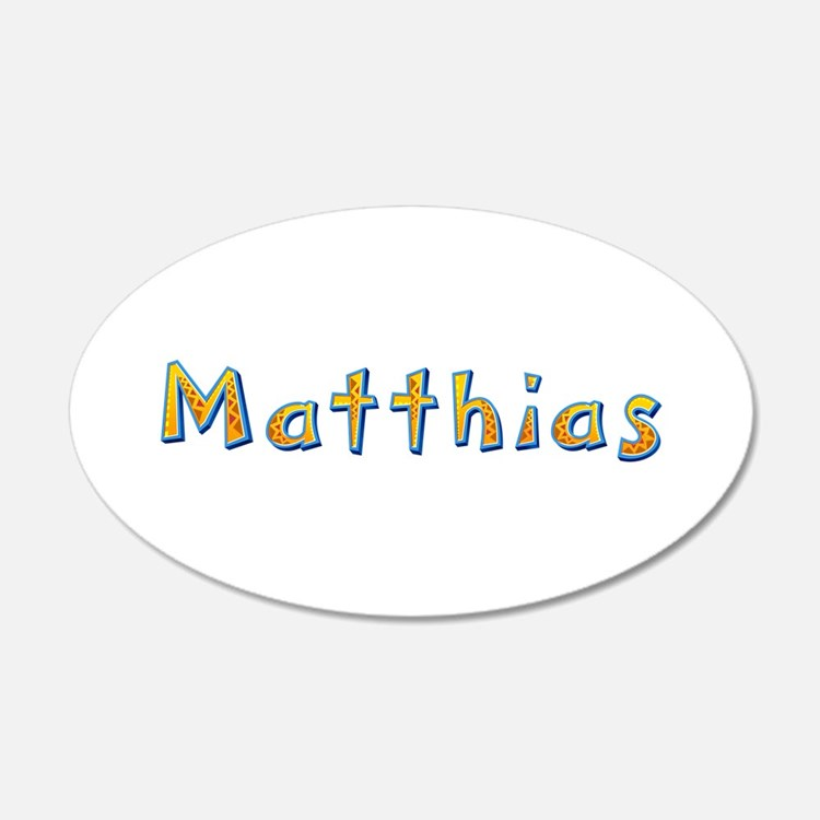 Matthias Giraffe Wall Decal