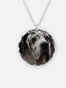 great dane harlequin Necklace