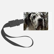 great dane harlequin Luggage Tag