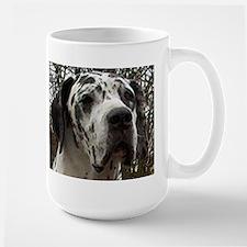 great dane harlequin Mugs