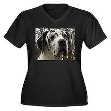 great dane harlequin Plus Size T-Shirt