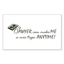 Sawyer Rectangle Decal
