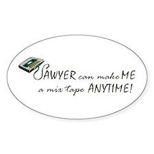 Sawyer Oval Decal