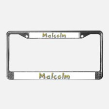 Malcolm Giraffe License Plate Frame