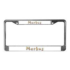 Markus Giraffe License Plate Frame