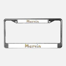 Marvin Giraffe License Plate Frame