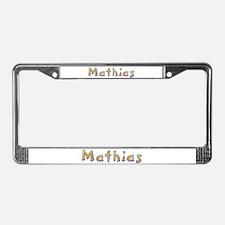 Mathias Giraffe License Plate Frame