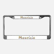 Mauricio Giraffe License Plate Frame