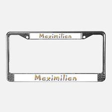 Maximilian Giraffe License Plate Frame